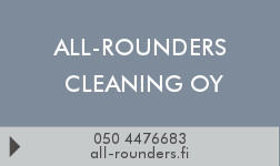 All-Rounders Cleaning Oy logo