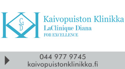 Kaivopuiston Klinikka / LaClinique Diana logo